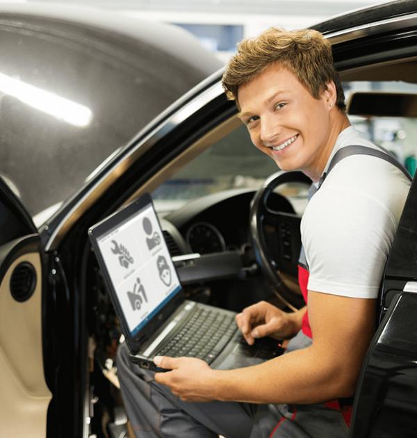 Automobilio dujų sistemos diegimo programinė įranga